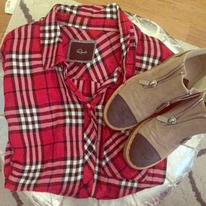 Rails Plaid Button Shirt- Cozy!!